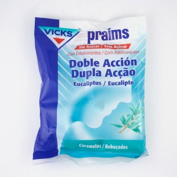 PRAIMS DOBLE ACCION SIN AZUCAR 60 G BOLSA