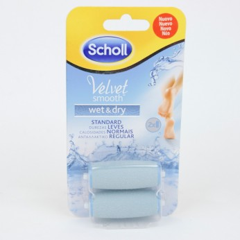 DR SCHOLL VELVET SMOOTH LIMA PIES WET & DRY CABE