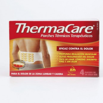 THERMACARE PARCHE TERMICO ZONA LUMBAR CADERA 4 P