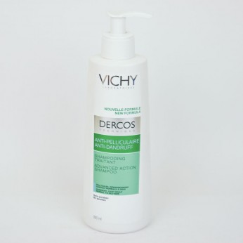 DERCOS TECHNIQUE ANTICASPA CHAMPU C GRASO 400 ML