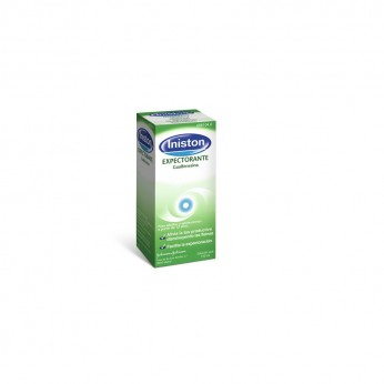INISTON EXPECTORANTE 100 MG/5 ML SOLUCION ORAL 1