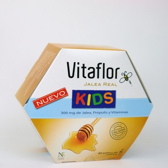VITAFLOR JALEA REAL KIDS AMPOLLA BEBIBLE 10 ML