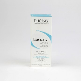 DUCRAY KERACNIL MASCARILLA 40 ML. TRIPLE ACCION