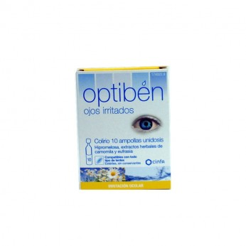 OPTIBEN OJOS IRRITADOS 10 AMPOLLAS