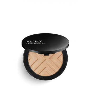 VICHY DERMABLEND COVERMATTE SAND Nº 35 SPF25 POLVO COMPACTO.