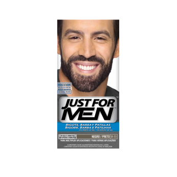 JUST FOR MEN BIGOTE Y BARBA 100 CC NEGRO