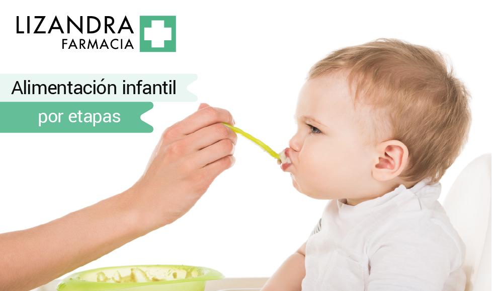 Alimentación infantil por etapas